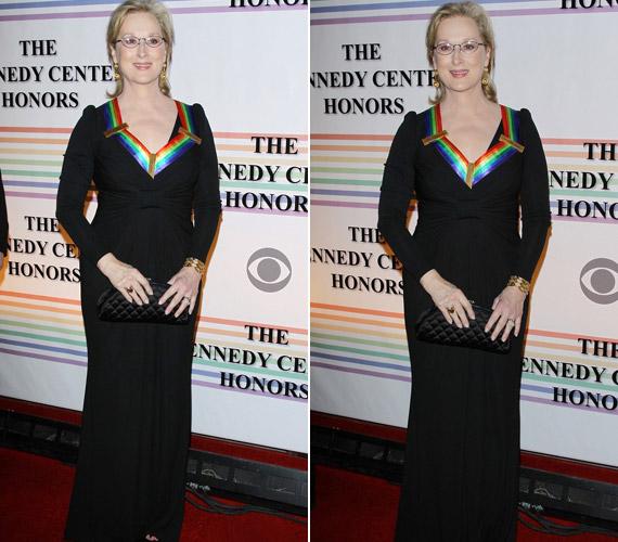 Meryl Streep 62 évesen is feltűnő jelenség.