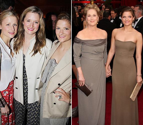 A két idősebb lány anyjuk bájos vonásain kívül művészi hajlamot is örököltek, és mindketten a színésznői pályát választották hivatásuknak.