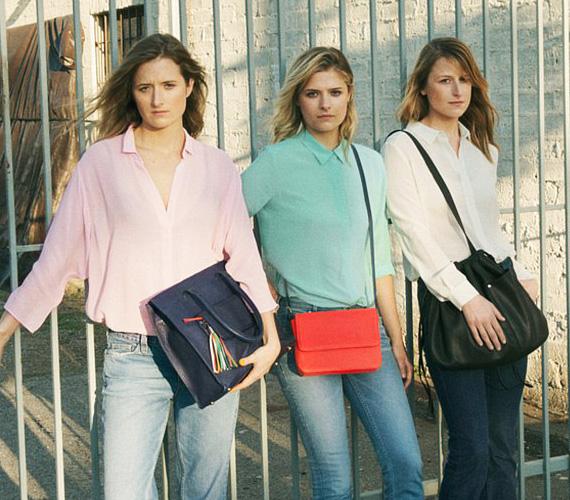 A három lány együtt pózolt a the & Other Stories Co-Lab divatkampányában - balról jobbra Grace, Louisa és Mamie.