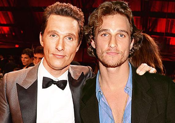 Matthew McConaughey 27 évesen és most, 44 évesen. 1996-ban forgatta a Hatalmas aranyos filmet.