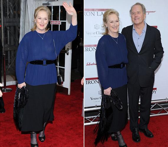 Meryl Streep 1978-ban ment feleségül Don Gummerhez, akivel azóta boldog házasságban él.