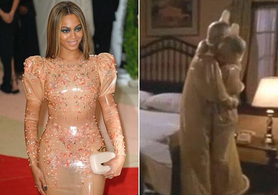 Beyoncé latexruhája osztotta meg leginkább a tömegeket. Többen a Csupasz pisztoly szerelmi jelenetében szereplő kondomruhához hasonlították, míg voltak, akik szerint úgy festett, mintha az ellenségei bőréből készült ruhát húzott volna.