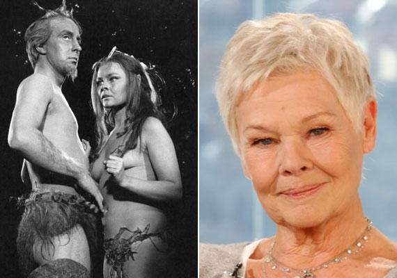 A 81 éves Judy Dench a harmincas éveiben járt, amikor a1968-ban, a Szentivánéji álomban meztelenre vetkőzött.