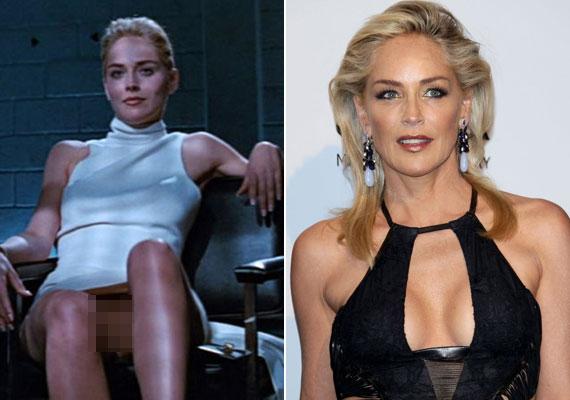 Sharon Stone villantására minden felnőtt emlékezhet az 1992-es Elemi ösztön című filmből, hiszen a világ egyik leghíresebb jelenetéről van szó.