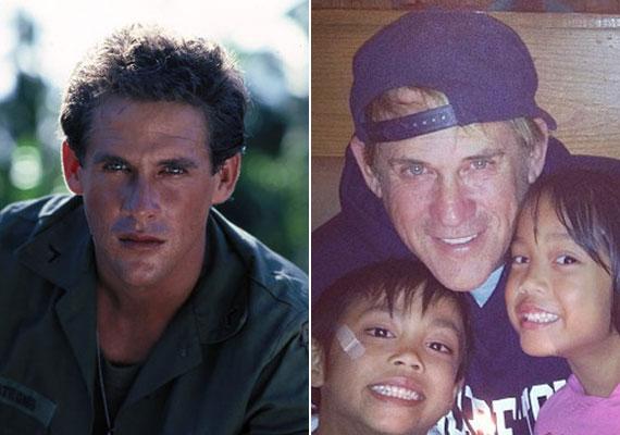 A sármos színész felett is eljárt az idő! Dudikoff ma már inkább családjának és gyermekeinek, Joseph-nek és Nancynek él.