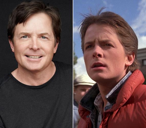 Az 54 éves Michael J. Fox 1985-ben a 17 éves Marty McFly szerepébe bújt, amiért a mai napig sokan imádják. A színészről 30 éves korában kiderült, hogy fiatalkori Parkinson-kórban szenved, ezért a kilencvenes években vissza kellett vonulnia. Jelenleg szinkronszínészként és íróként keresi a kenyerét.