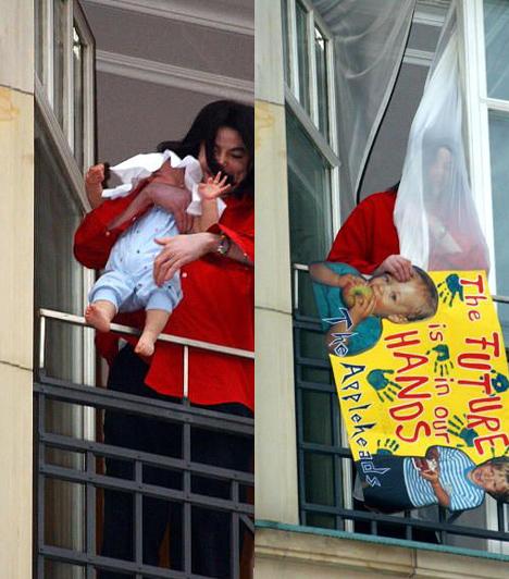 A harmadik csemete  2002-ben mesterséges megtermékenyítés után, ismeretlen anyától született meg harmadik gyermeke, Prince Michael II. Jackson óriási botrányt kavart, mikor a 11 hónapos kisfiút kilógatta egy berlini hotel negyedik emeleti erkélyéről.