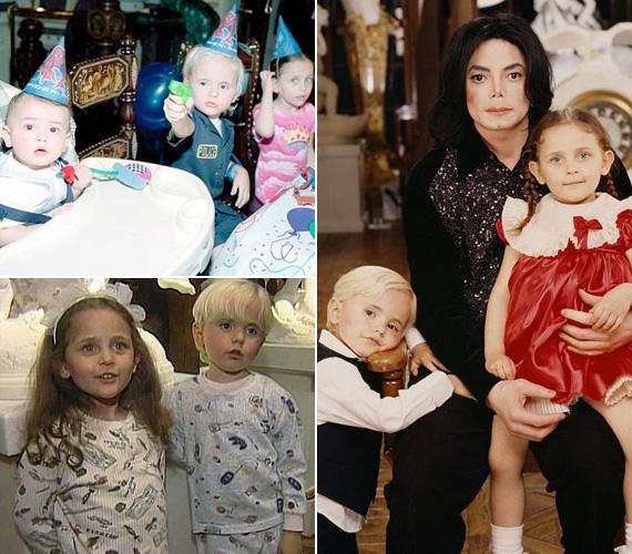 Michael Jackson kétszer volt házas: először Elvis Presley lányát, Lisa Marie Presley-t vette el 1994-ben, de alig két év után elváltak. Második felesége pedig Debbie Rowe volt, tőle született fia, Prince 1997-ben, és lánya, Paris a rákövetkező évben. Blanket, a legkisebb fiú 2002-ben jött világra, őt béranya hordta ki.