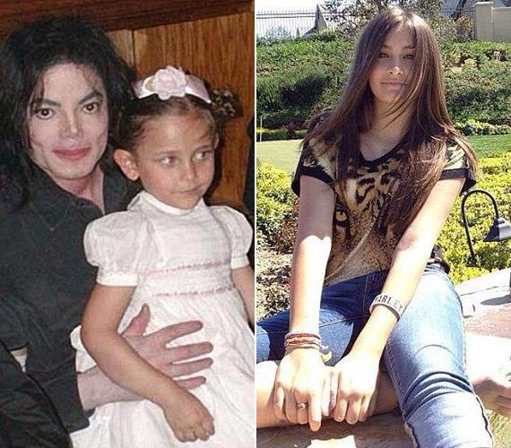 Paris, Michael Jackson 16 éves lánya viseli legnehezebben édesapja halálát, tavaly nyáron öngyilkos akart lenni, és felvágta az ereit. Bár állítólag túl van a mély depressziós időszakán, nem a testvéreivel nevelkedik, hanem egy bentlakásos iskolába jár. Facebook-oldalán azonban rendszeresen posztolgat magáról képeket, a bal oldali fotót is pár napja tette ki.