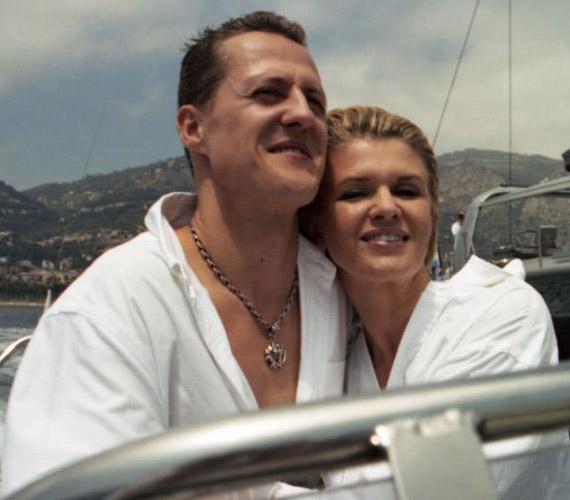 Michael Schumacher mindig igyekezett magánéletét titokban tartani.