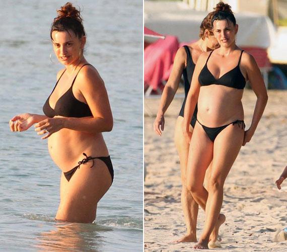 Penélope Cruz és Javier Bardem februárban jelentették be, hogy második gyermeküket várják. Márciusban Barbadoson kapták le a színésznőt.