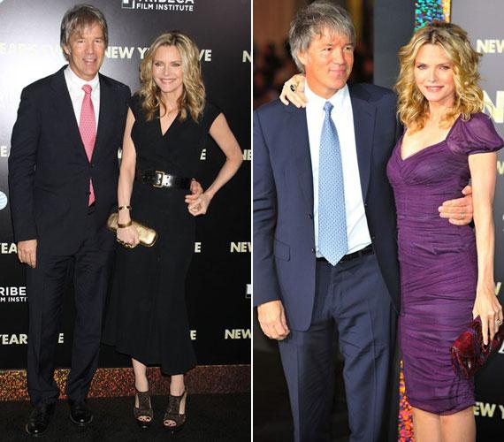 A bemutatókra férje, David E. Kelley kísérte el, akivel 1993 óta házasok.