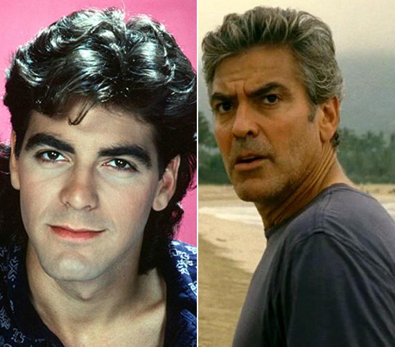 George Clooney 1985 és 1986 között a The Facts of Life című sorozatban és az Oscarra jelölt az Utódokban.