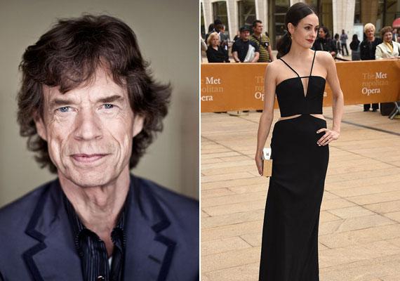 Nem csoda, hogy Mick Jagger szemet vetett a 28 éves szépségre. Az Amerikában elismert táncművész két éve csavarta el a fejét.