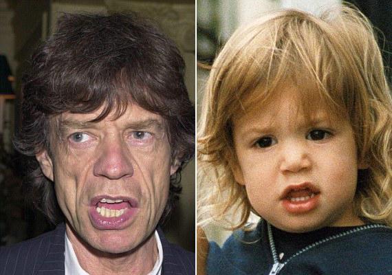 Mick Jagger először nem akarta elismerni futó viszonyból származó kisfiát, Lucast, pedig nehéz lenne letagadnia, hogy az övé.