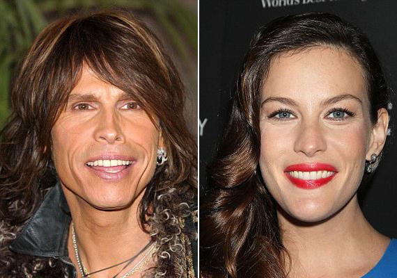 Liv Tyler már kilenc éves volt, amikor megtudta, ki az apja. Minderre egy Aerosmith koncerten jött rá, hiszen pontosan úgy néz ki, mint Steven Tyler.