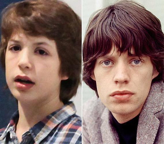 Nagyon hasonlít az arcformájuk, arról nem is beszélve, hogy Lucas az énekes egyik legjellegzetesebb vonását is örökölte, a hatalmas száját.
