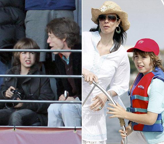 Luciana Gimenez a kilencvenes évek végén esett teherbe Mick Jaggertől, fiuk, Lucas Maurice Morad Jagger pedig 1999. május 18-án született meg.