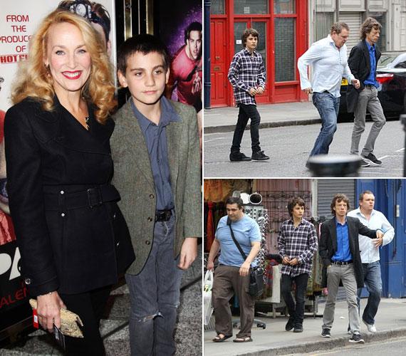 Középső fiának is Jerry Hall az anyukája, aki 1997. december 9-én adott életet Gabriel Luke Beauregard Jaggernek.