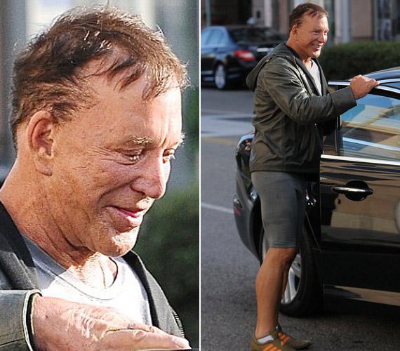 Elkeserítő látni, hogy az egykor sármos színész egyre szörnyűbb állapotba kerül.