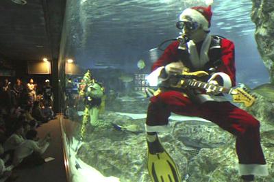 Eljátssza a kedvenc dalunkat a víz alatt is