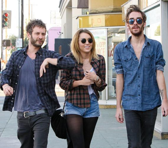 Barátaival a hollywoodi Wockano étteremben járt.