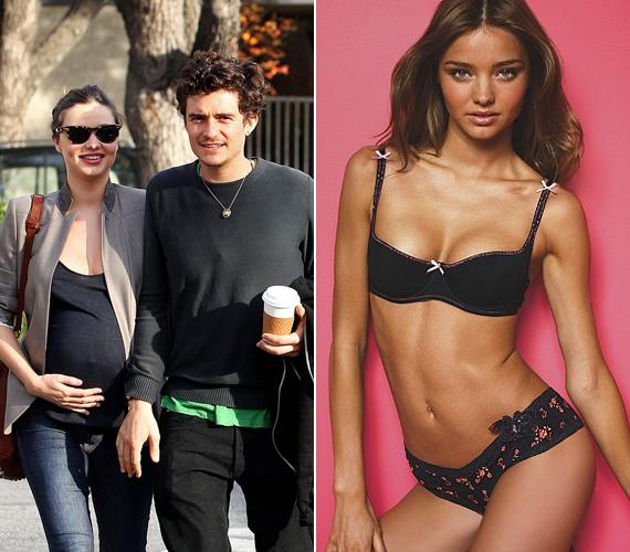 A szép modellnek van egy kisfia, aki férjétől, a színész Orlando Bloomtól született.