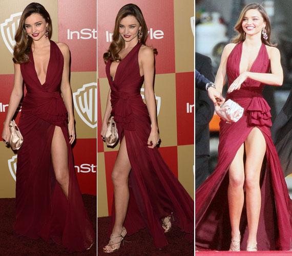 A 2013-as Golden Globe-gálára is egy merész ruhát választott.
