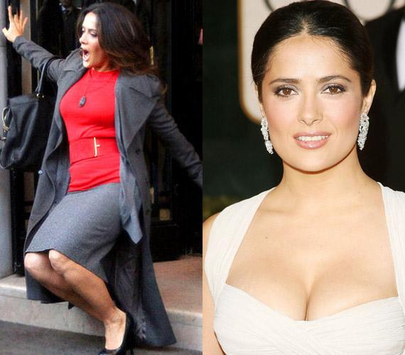 A Csizmás, a kandúr majdnem Salma Hayek veszte is lett, ha nincs ott Antonio Banderas, bizony hatalmasat esett volna a szép színésznő.