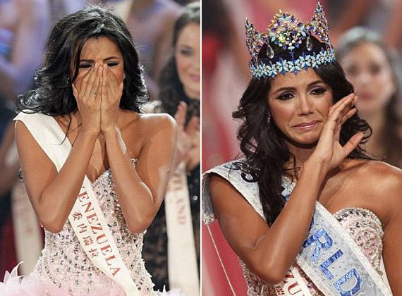 Egy szépségverseny nem is lenne az igazi könnyek nélkül.