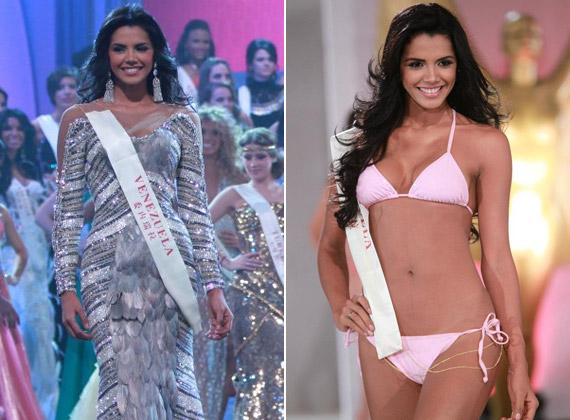 Ivian LunaSol Sarco Colmenares rózsaszín bikinijében mutatta meg tökéletes alakját.