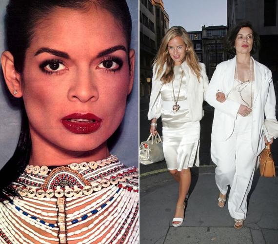 Mick Jagger felesége, Bianca is modell volt, nem csoda tehát, hogy gyönyörű lányuk, Jade is követte őt ezen a pályán.