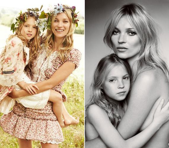 Kate Moss gyermeke, Lila Grace 2002. szeptember 30-án látta meg a napvilágot. Mostanra gyönyörű kislánnyá érett, aki egyszer még hasonló sikereket érhet el a kifutón, mint édesanyja.