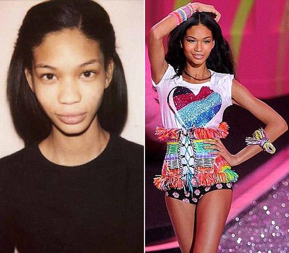 Chanel Iman már 13 évesen gyerekmodell volt Los Angelesben, a Victoria's Secretnek 2010 óta dolgozik.