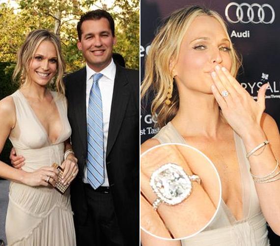 Stuber május 20-án kérte meg kedvese kezét egy mutatós gyémántgyűrűvel, az eljegyzési partit Los Angelesben tartották meg családostul