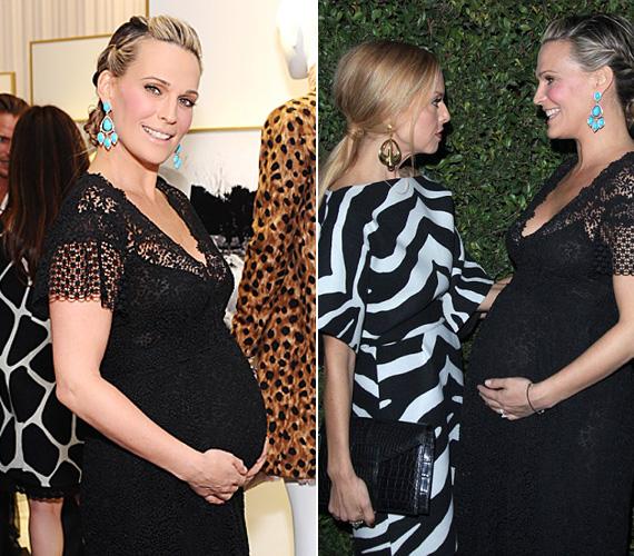 A neves stylist, Rachel Zoe bizonyára nemcsak öltözködési tanácsokat adott a színésznőnek, hisz az ő kisfia, Skyler is csak nemrég ünnepelte első születésnapját.