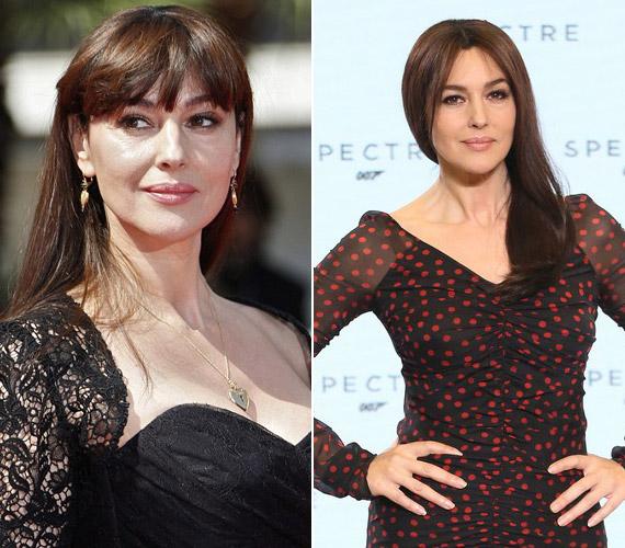 Bár az tény, hogy már az év eleji képéhez képest is változott valamicskét az arca, Monica Bellucci legalább ésszel plasztikáztat.