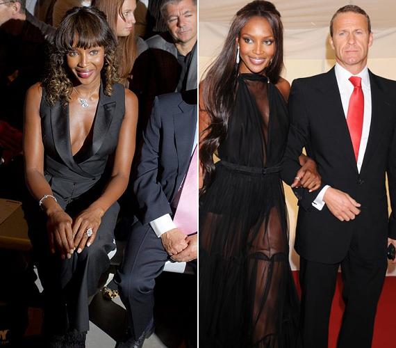 Naomi a villantásnak köszönhetően kapott egy kis extra figyelmet, mostanában úgyis eléggé eltűnt szem elől. A fekete szépség Vladimir Doronin üzletemberrel éli a dúsgazdagok luxuséletét.