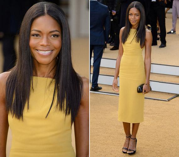 A színésznő abban a szerencsés helyzetben van, hogy szinte minden ruha jól mutat csodás alakján.