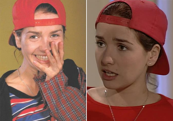 A sorozatban is bájos arcával hódította meg Ivo Di Carlót, ami azóta sem sokat változott, teljesen felesleges volt plasztikáztatnia.