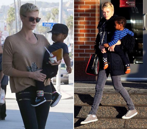 Charlize Theron egyedülálló nőként is bevállalt egy gyereket. A sztár azért nincs teljesen egyedül a picivel, Jacksont édesanyja segítségével neveli.