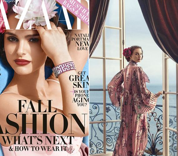 A bal oldalon látható a címlapfotó, ezzel jelenik majd meg a magazin augusztusban. A jobb oldalon az interjúhoz készült egyik csodaszép illusztrációt nézheted meg.