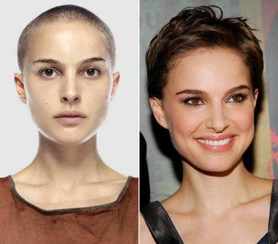 Drasztikus változás volt, amikor Eve Hammond szerepéért a V, mint vérbosszú című filmben tövig nyírták a haját. Szerencsére hamar megnőtt, de a rövid frizura is remekül állt a színésznőnek.