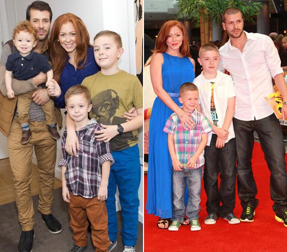 Szép család voltak, a gyerekeknek sem könnyű, hogy szüleik július óta külön élnek.