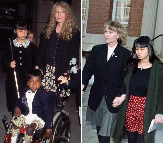 A 70 éves Mia Farrow négy gyermeket szült és kilencet adoptált élete során. Örökbe fogadott csemetéi közül azonban ketten már eltávoztak az élők sorából. A színésznő először a 19 éves, indonéz származású, vak lányát, Tam Farrow-t temette el, akinek szíve 2000-ben váratlanul megállt. Nyolc évvel később ismét gyászolni kényszerült: 35 éves lánya, Lark Previn éppen 2008 karácsonyán hunyt el a kórházban. A nő halálát AIDS és tüdőgyulladás okozta. Lark korábban azt állította, egy fertőzött tetoválótű tette beteggé. Élete végéig marcangolta magát belülről, mert két gyermekének is továbbadta a halálos vírust.