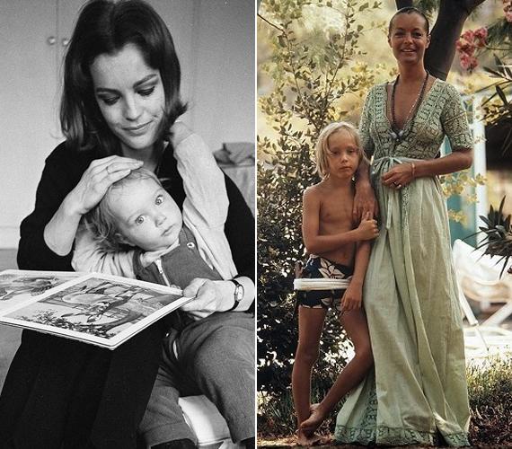 Romy Schneider, aki szeptember 23-án ünnepelné a 77. születésnapját, 1966-ban adott életet egyetlen fiának, David Christopher Meyennek, aki 14 éves volt, amikor meghalt. A fiú 1981-ben Romy akkori párja, Daniel Biasini szüleinek kertjében játszott, majd úgy döntött, átmászik egy kerítésen. A drót azonban olyan súlyosan megsebesítette a combjában futó artériát, hogy elvérzett. A színésznő ezután szakított Biasinival, akitől egyébként született egy lánya, Sarah Magdalena még 1977-ben. Romy soha nem tudta feldolgozni ezt a szörnyű tragédiát, állandóan ivott. Alig egy évvel élte csak túl imádott fiát, 1982-ben holtan találták a lakásában. Állítólag nem az italozás végzett vele, hanem a szíve, amely egy korábbi műtét következtében gyengült le.
