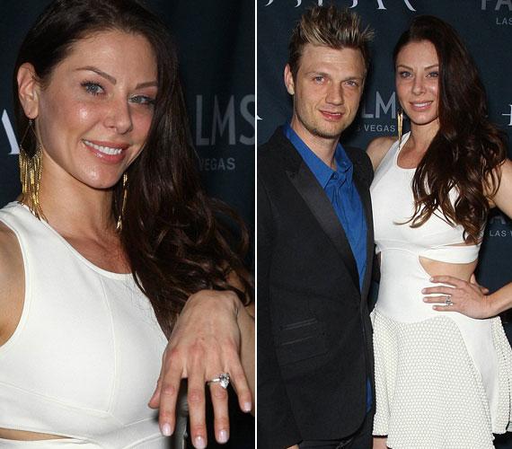 2013. február 23-án jegyezte el barátnőjét. A fehérbe öltözött Lauren Kitt Las Vegasban is büszkén mutogatta jegygyűrűjét.