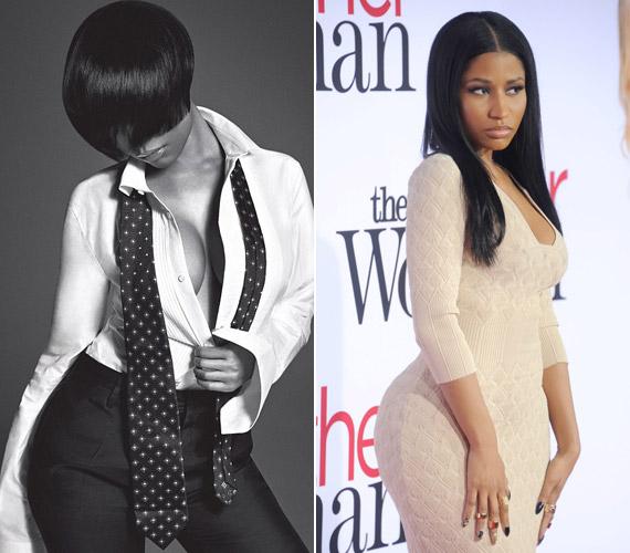 Szeptemberben derült ki, hogy implantátumok teszik kerekké Nicki Minaj fenekét, egyik fellépésén önálló életre is keltek.