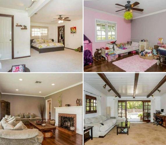 A házban mindenkinek megvolt a személyes tere, a lányok szobája pedig olyan színű lehetett, amilyet ők akartak, vagyis: rózsaszín.