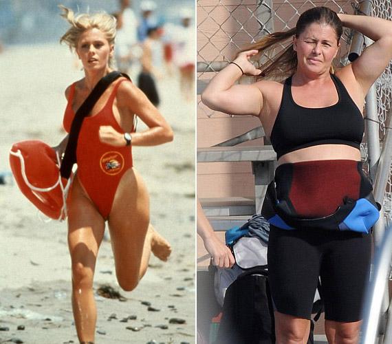 Szinte rá sem ismerni: Nicole Eggert a szőke loknijai nélkül és a pluszkilóival ma már csupán egy átlagos anyukának néz ki.